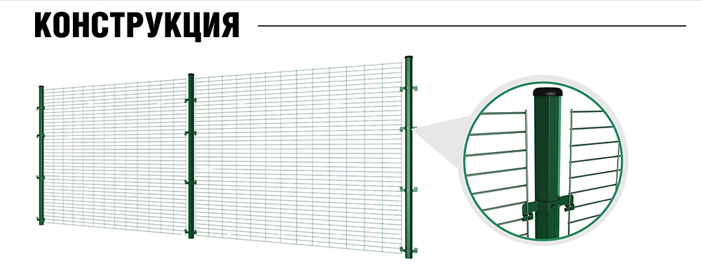Заборные системы (конструкция)