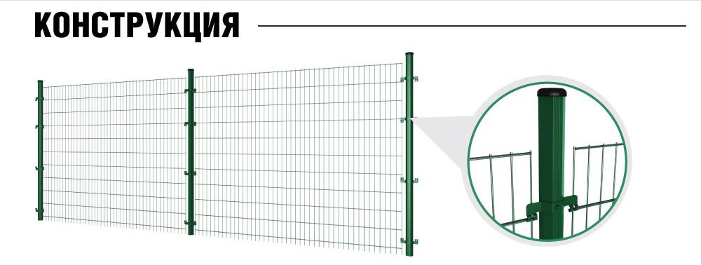 Забор для футбольного поля