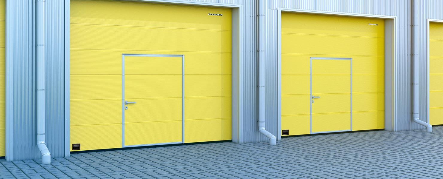 Промышленные ворота ISD01